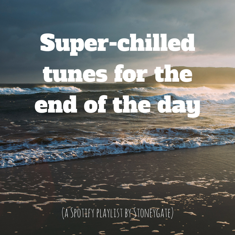 Super-chilled tunes for the end of the day