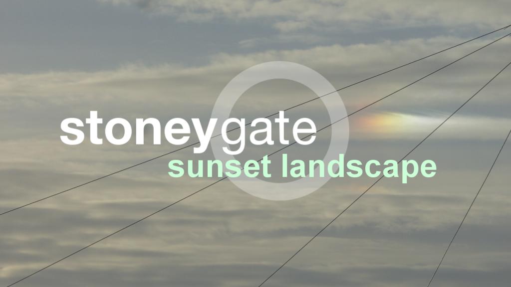 Sunset Landscape by Stoneygate