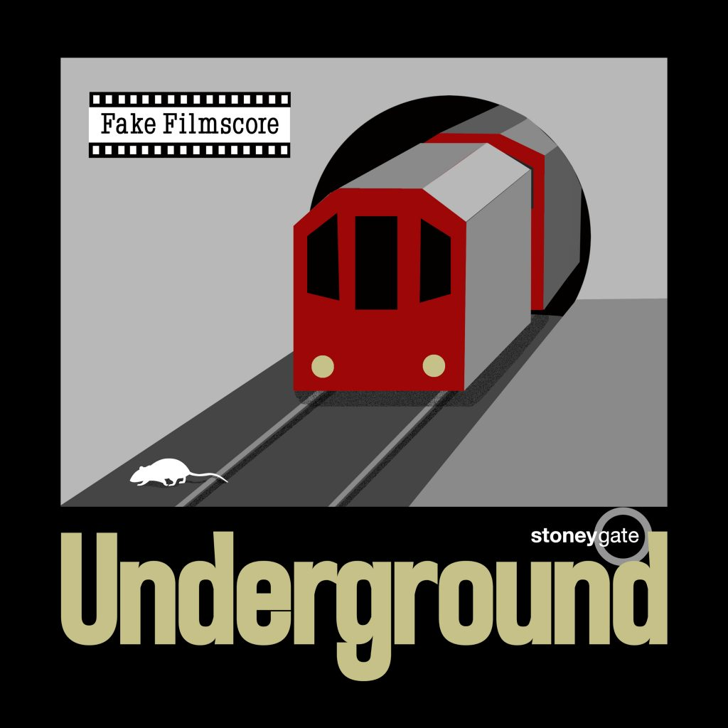 Underground single by Fake Filmscore and Stoneygate cover art